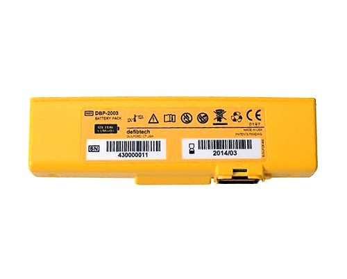 Defibtech Lifeline View/Pro/ECG AED Battery