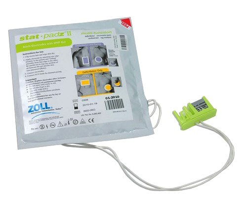 ZOLL AED Plus Adult Electrode Pads: Stat-padz